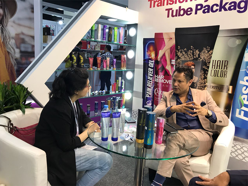 Uflex gets off to a Terrific Start at Beautyworld Middle East Exhibition 2018