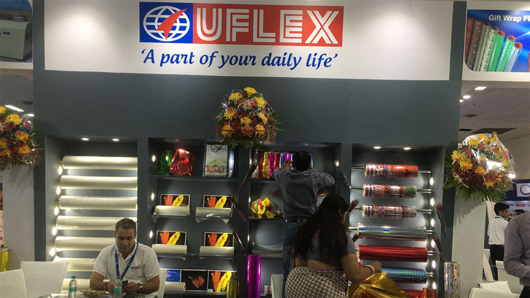 Uflex gets off to a Terrific Start at IndiaPack Pacprocess 2017