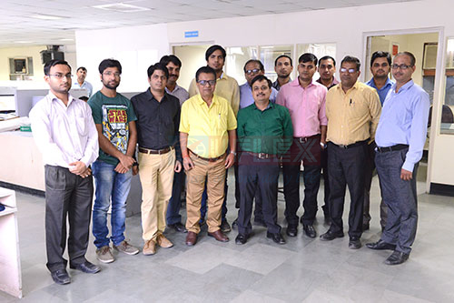 UFlex Engg team of research engineers