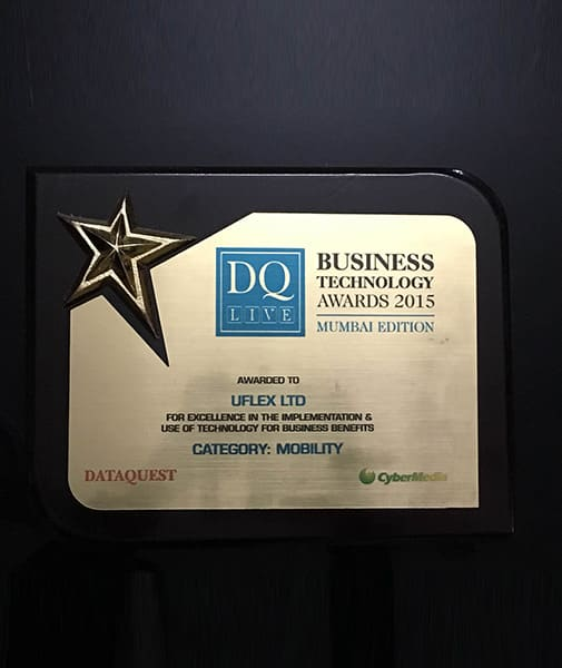 Dataquest Bussiness Technology Award 2015