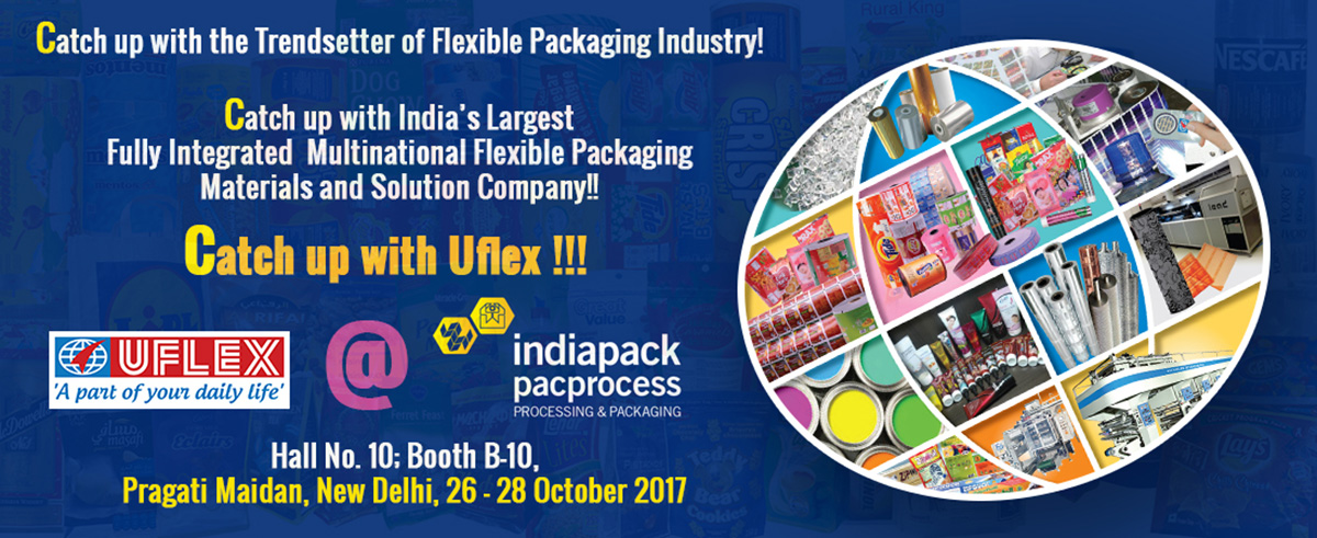 Uflex at Indiapack Pacprocess 2017