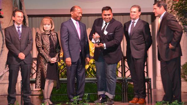 Dupont Award received by our Mr. Anantshree Chaturvedi