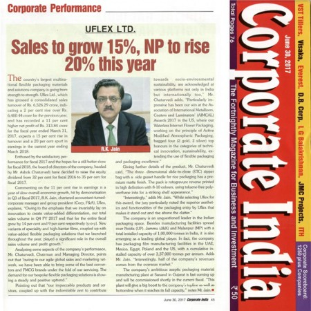 Sales to grow