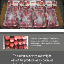 FLEXFRESH TM LINER BAG BY UFLEX GETS ACCREDITATION FOR POMEGRANATES