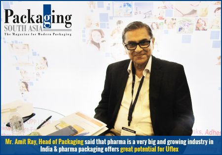 'Uflex aims to become the biggest pharma packaging company' – Packaging South Asia reports