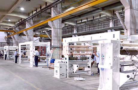 State-of-the-art imported machinery to provide sustainable packaging solutions.