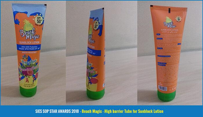 Beach-Magic---High-barrier-Tube-for-Sunblock-Lotion