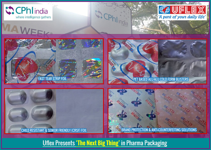 Uflex Presents Pharma Packaging Innovations at CPHI