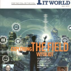 Growth of the manufacturing sector, Mr. Mudit Agarwal, Global IT Head, Uflex Limited – reports Enterprise IT World   May 2019 Print edition