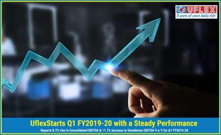 Uflex Starts Q1 FY2019-20 with a Steady Performance
