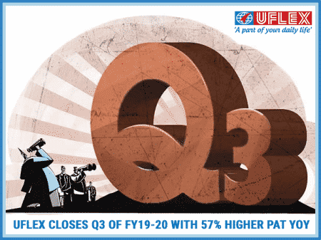 UFlex Closes Q3 of FY19-20 with 57% Higher PAT YoY